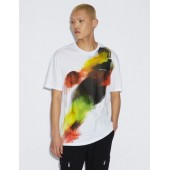 T-SHIRT WITH MULTICOLOUR PRINT