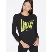 SWEATSHIRT WITH EMBROIDERED LETTERING IN SEQUINS