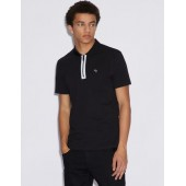POLO SHIRT WITH CONTRAST PROFILES