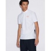 POLO SHIRT WITH CONTRASTING INSERTS