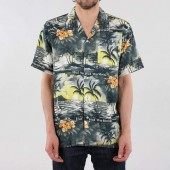 HUF Venice Short Sleeve Shirt - Black