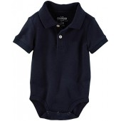 OshKosh BGosh OshKosh Bgosh Baby Boys Polo Knit Bodysuit