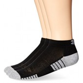 Under Armour Mens Heatgear Tech Lo Cut Socks (3 Pack)