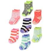 OshKosh BGosh Baby Girls Oshkosh Crew Socks Days of the Week (7pack)