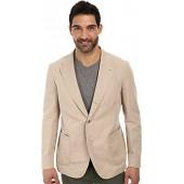 Lacoste Mens Cotton Linen Blazer