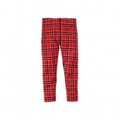 Carters Carters Little Girls Sparkle Plaid Leggings (4K, Red)