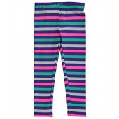 Carters Carters Little Girls Toddler Cheery Stripes Leggings - navy/multi, 3t