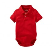 OshKosh BGosh Baby Boys Polo Bodysuit