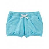 OshKosh BGosh OshKosh Little Girls Lightweight Pull On Shorts (Turquoise)