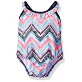OshKosh BGosh Osh Kosh Baby Girls Zigzag Stripe One Piece Swimsuit