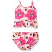 OshKosh BGosh Osh Kosh Baby Girls Large Flower Tankini Swimsuit Set