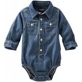 OshKosh BGosh OshKosh Bgosh Casual Woven Bodysuit (Baby)