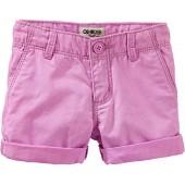 OshKosh BGosh OshKosh Toddler Girls Neon Twill Shorts