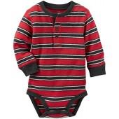 OshKosh BGosh OshKosh Bgosh Henley Bodysuit (Baby)