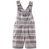 OshKosh BGosh OshKosh Bgosh Baby Boys Striped Shortalls (Baby)