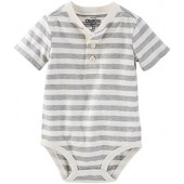 OshKosh BGosh OshKosh Bgosh Baby Boys Milk Stripe Bodysuit