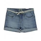 OshKosh BGosh OshKosh Bgosh Little Girls Classic Ribbon Shorts - Light Blue, 6X