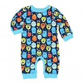 Disney Monsters Inc Boys Coverall Romper (Baby)