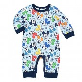 Disney Mickey Mouse Boys Coverall Romper (Baby)
