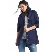 Maternity utility jacket
