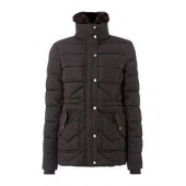 Lomond Quilted Coat With Detachable Collar