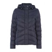 Hooded Seaward Quilted Jacket