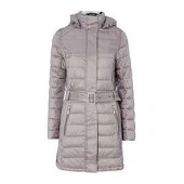 Braemar Long Quilted Coat With Hood
