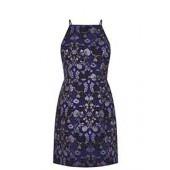 Warner Jacquard Lace Back Shift Dress