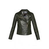 Lizia Minimal Biker Jacket