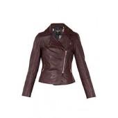Lizia Leather Biker Jacket