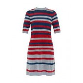 Ioney Lurex Striped Knit Dress