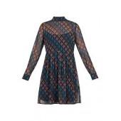Allyy Heart Print Dress