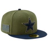 New Era NFL 59Fifty Salute to Service Cap - Mens