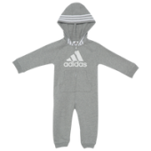 adidas Three-Stripe Coverall - Boys Infant
