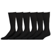 Eastbay 6 Pack Cushion Crew Socks - Mens