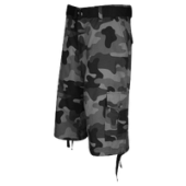Southpole Belted Camo Print Cargo Shorts - Mens