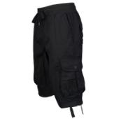 Southpole Fine Twill Cargo Jogger Shorts - Mens