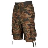 Southpole Twill Jogger Camo Shorts - Mens