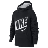 Nike Therma Graphic Hoodie - Boys Grade School