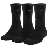 Nike 3PK Dri-FIT 1/2 Cushion Crew Socks - Mens