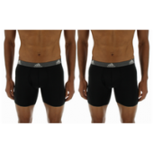 adidas Climalite 2 Pack Performance Boxer Briefs - Mens