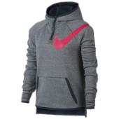 Nike Therma Plush Half-Zip Hoodie - Girls Grade School