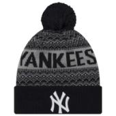 New Era MLB Wintry Cuff Pom Knit - Mens