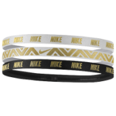 Nike Metallic Headbands 3 Pack - Womens