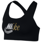 Nike Pro Swoosh Metallic Clash Bra - Womens