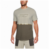 Under Armour SC30 Shersey Drop Hem T-Shirt - Mens