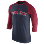 Nike MLB 3/4 Raglan T-Shirt - Mens