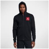 Jordan Retro 3 Flight Fleece Full-Zip Hoodie - Mens
