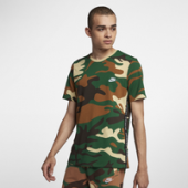 Nike Camo Embroidered T-Shirt - Mens