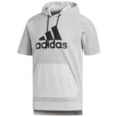 adidas Athletics Sport ID S/S Pullover Hoodie - Mens